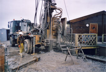 Haverfordwest - drilling for water
